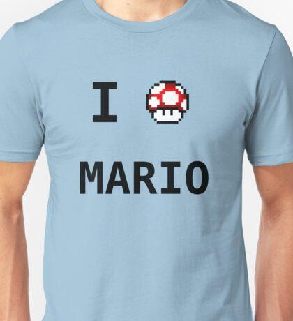 I Love Mario  Unisex T-Shirt