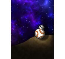 BB-8 in a galaxy far far away... Photographic Print