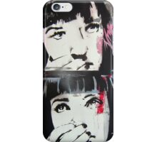 Mia Wallace - Pulp Fiction iPhone Case/Skin