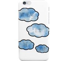 My Head Is In The Clouds iPhone Case/Skin