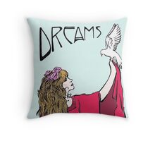 Stevie Nicks- Art Nouveau Style- Colour Throw Pillow