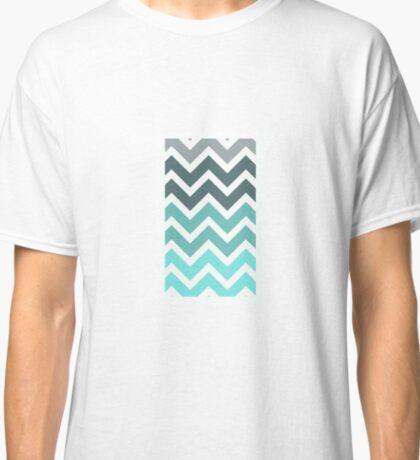 Faded Tiffany Zig Zag Classic T-Shirt