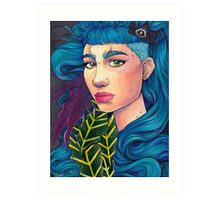 Art Angel Art Print