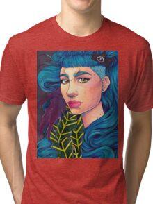 Art Angel Tri-blend T-Shirt