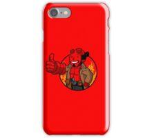 Hell Vault Boy  iPhone Case/Skin