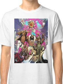 Flatbush Zombies Comic Space Adventure Classic T-Shirt