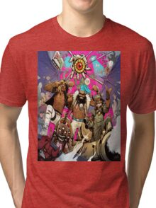 Flatbush Zombies Comic Space Adventure Tri-blend T-Shirt