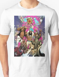 Flatbush Zombies Comic Space Adventure Unisex T-Shirt