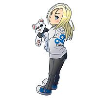 Cute Chibi Character Photographic Print