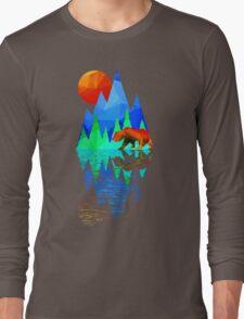 Bear Mountain Long Sleeve T-Shirt