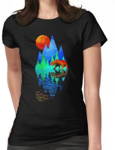 Bear Mountain Womens Fitted T-Shirt