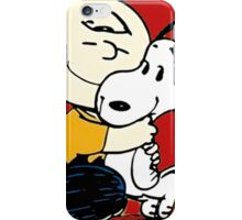 Snoopy and Charlie Soulmate iPhone Case/Skin