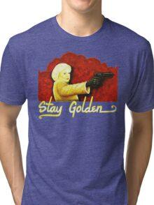 Stay Golden Girl Character Tri-blend T-Shirt