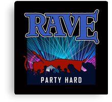 Rave  Canvas Print