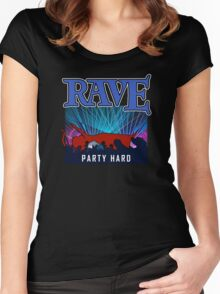 Rave  Women's Fitted Scoop T-Shirt