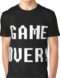 Game Over! Undertale Text Graphic T-Shirt