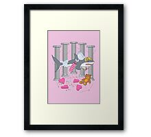 The Cupid Shark Framed Print