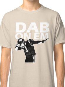 Dab On Em Carolina Cam Newton Classic T-Shirt