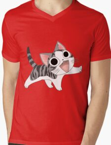 Chi cute cat Mens V-Neck T-Shirt