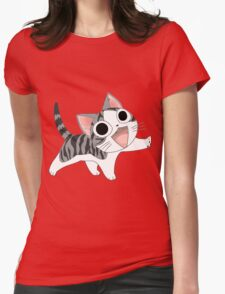 Chi cute cat Womens Fitted T-Shirt