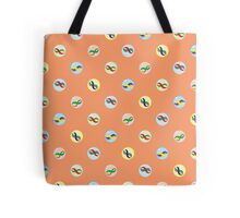 Colorful Marble Pattern Tote Bag
