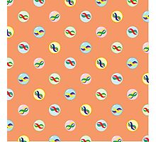 Colorful Marble Pattern Photographic Print