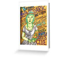 Grimes - Oblivion Greeting Card
