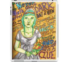 Grimes - Oblivion iPad Case/Skin