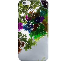 Colour Stained Sky View iPhone Case/Skin