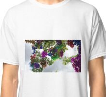 Colour Stained Sky View Classic T-Shirt