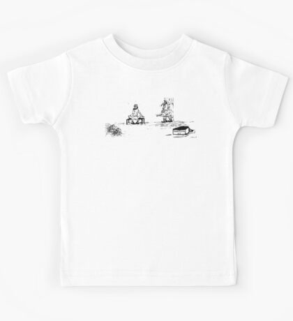 Zoo Humour - Cartoon 0010 Kids Tee