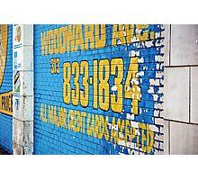 Detroit Painted Billboard Photographic Print