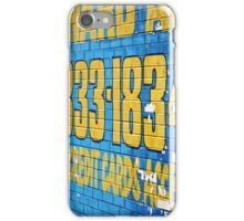 Detroit Painted Billboard iPhone Case/Skin