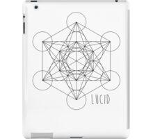 Lucid - Metatron's Cube iPad Case/Skin