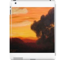 Orange Sunset 2 iPad Case/Skin