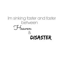 Justin Bieber - Im sinking faster and faster, between heaven and disaster by ourwonderland