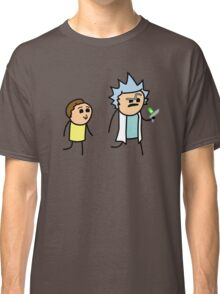 RICK AND MORTY CYANIDE style Classic T-Shirt