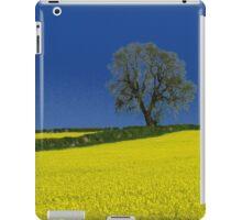 Oak Tree Landscape ( Blue ) iPad Case/Skin