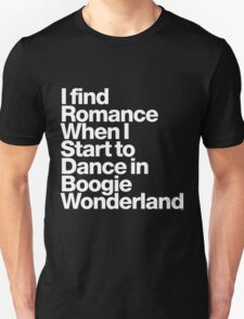 Boogie Wonderland - Tribute to Earth, Wind & Fire's Maurice White T-Shirt