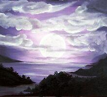 Purple sky by CharliBell