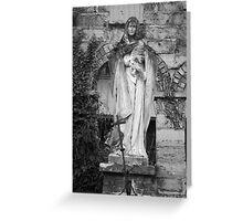 Madonna and Jesus Greeting Card