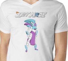 """Jet Mode """"Cybra"""" Mens V-Neck T-Shirt"""