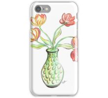 Tulips in a Vase iPhone Case/Skin