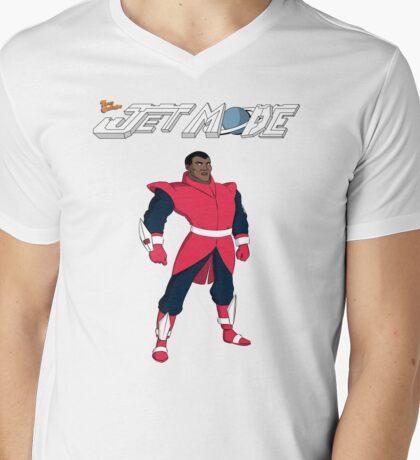 """Jet Mode """"Empire"""" Mens V-Neck T-Shirt"""