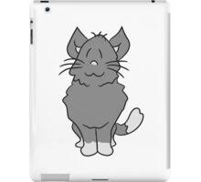 sweet cute kitten fluffy fur iPad Case/Skin