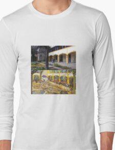 Vincent Van Gogh - Hospital in Arles Long Sleeve T-Shirt
