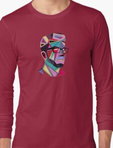 Shape Face Long Sleeve T-Shirt