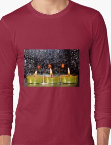 A row of candles Long Sleeve T-Shirt