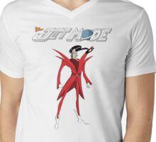 """Jet Mode """"Raven"""" Mens V-Neck T-Shirt"""