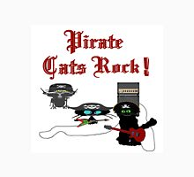 Pirate Cats Rock Unisex T-Shirt